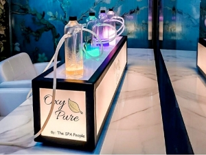 First Oxygen Bar In Delhi