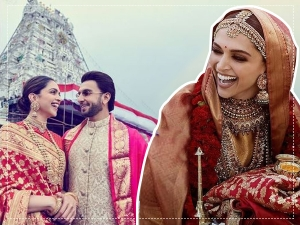 Deepika Padukone Wore Special Red Saree For Her First Wedding Aniversary