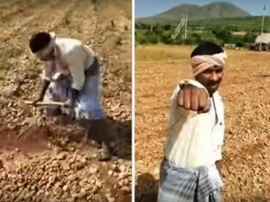 Viral Karnataka Farmer Singing To Justin Bieber S Song Baby