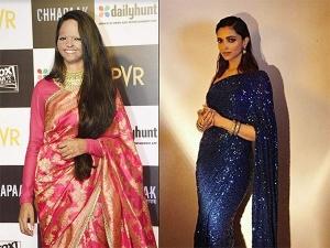 Deepika Padukone And Laxmi Agarwal Wear Sabyasachi At Chhappak Screening