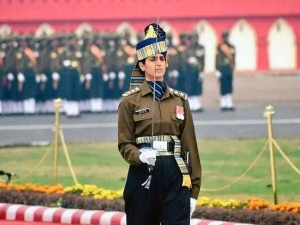 Meet Captain Tania Shergil The 1st Woman Republic Day Parade Adjutant