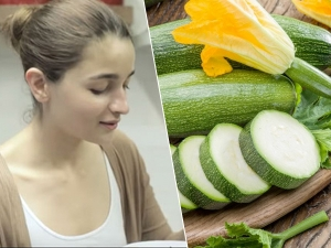 Alia Bhatt S Recipe Of Zucchini Subzi Is A Weight Loss Secret