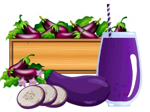 Health Benefits Of Eggplant Juice