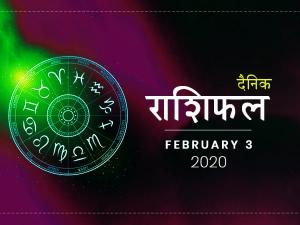 Daily Horoscope For 3 February 2020 Monday