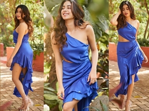 Jhanvi Kapoor Ruling The Internet With One Shoulder Dress