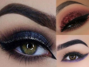 Enhance The Beauty Of Eyes In A New Style With Neon And Glitter Eyeliner
