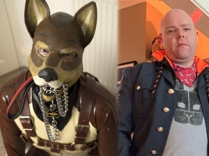 Man Chooses To Live Like Dog Eats From Bowl And Wear A Canine Suit