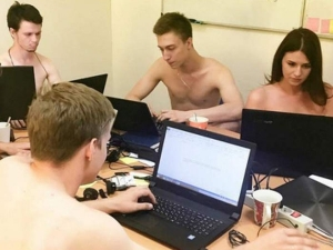 Weird Jobs Where Employees Work Without Clothes
