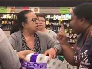 Coronavirus Women Fighting Over Tissue Paper Video Goes Viral