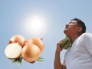 How Onion Can Help Against Heatstroke