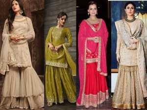 This Eid You Can Try These Sharara Outfits For Eid Party