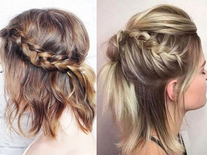 Twist Back Hairstyles For Short Hair