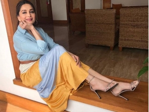 Happy Birthday Madhuri Dixit Madhuri Impressed Us With Her Western Look