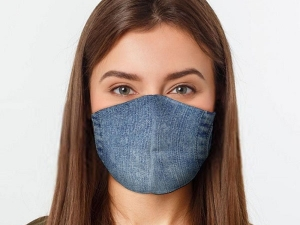 Denim Face Mask Become Trend See Latest Design