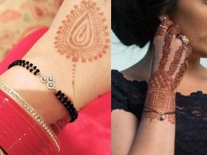 Latest Design Of Bracelet Mangalsutra For Bridal