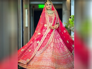 Different Ways To Style Draping Dupatta For Bride