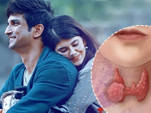 Sanjana Sanghi Has An Thyroid Cancer In Movie Dil Bechara Know The Symptoms And Signs