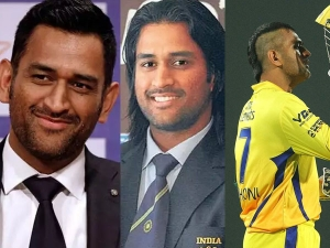 Mahendra Singh Dhoni Hairstyles From Debut To Now On His Birthday