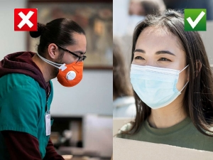 Coronavirus Government Wants You To Stop Wearing Valved N95 Face Masks