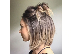 Know How To Make A Bun On Short Hair In 5 Minutes