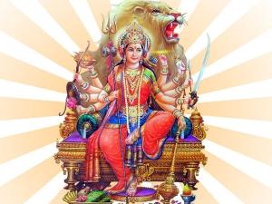 Navratri 2020 Durga Vahan Know Durga Mata Vehicle For This Year And Meaning
