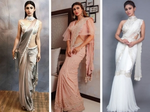 Happy Birthday Mouni Roy All The Times Nagin Mouni Roy Ethnic Saree Look So Stylish And Beautiful