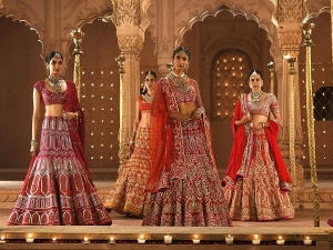 Reynu Taandon Surkh Collection For Brides And Bridesmaids