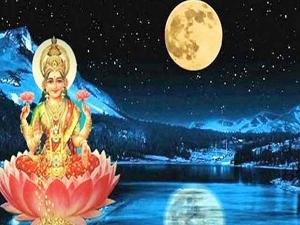 Sharad Purnima Powerful Laxmi Kuber Mantras For Money