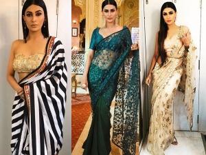 Bigg Boss Contestant Pavitra Punia Saree Looks Inspiring Us