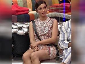 Bigg Boss Seniors Gauhar Khan Looks Glamorous In Embellished Dress