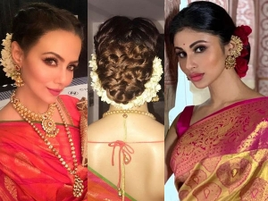 Try These Bun Hairstyle On Saree In Karwa Chauth