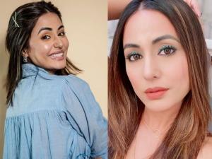 Hina Khan Neon Makeup Look From Bigg Boss