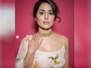 Hina Khan Traditional Outfit From Bigg Boss You Can Try This Look In Durga Puja