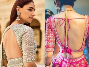 Karwa Chauth Makeup Tips How To Look Perfect In Karwa Chauth With Backless Blouse