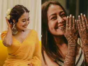 Neha Kakkar Rohanpreet Got Married See Haldi Mehandi And Wedding Ceremony Photo