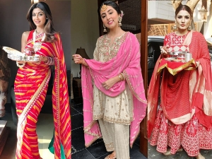 Karwa Chauth Outfit Ideas For First Karwa Chauth After Marriage
