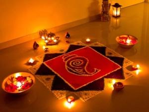 Make Beautiful Rangoli By Simple Hacks Best Rangoli Design For Diwali