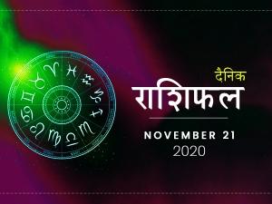Daily Horoscope For 21 November 2020 Saturday