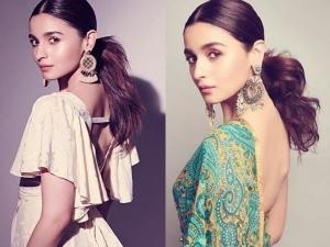 Alia Bhatt Look Gorgeous In Ponytail Hairstyle