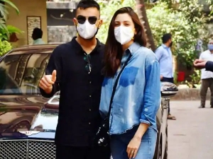 Virat Kohli In Black And Anushka Sharma In Denim Oufit