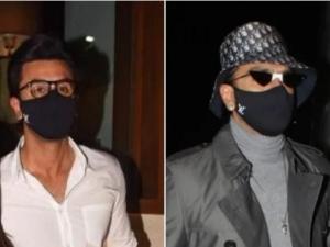 Ranveer Singh And Ranbir Kapoor In Louis Vuitton Black Mask Worth 20k