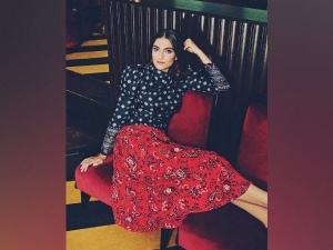 Sonam Kapoor Ahuja Look Beautiful In Patterned Outfit