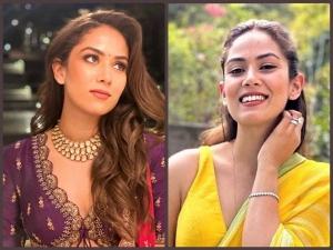 Mira Rajput Looks Beautiful In Yellow Saree And Purple Lehenga For Friend Wedding