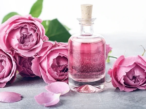 Rose Water Hair Mask For Silky And Shiny Hair