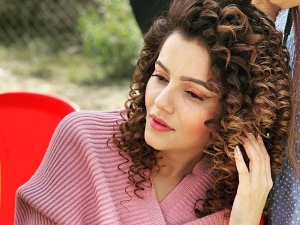 Shakti Actress Rubina Dilaik Looks Stunning In Orange Eyeliner