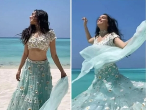 Browser Title Shraddha Kapoor Looks Stunning In Lehenga Style