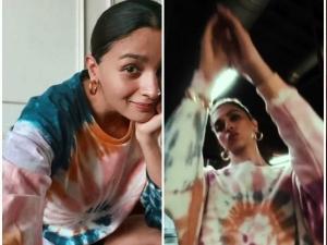 Alia Bhatt And Deepika Padukone Styled In Tie Dye Sweatshirt