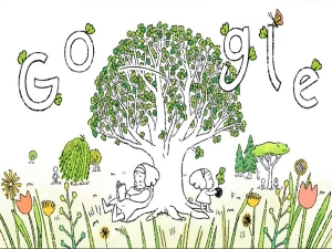 Google S Earth Day Doodle Shows How Everyone Can Plant Trees To Help Save The Planet