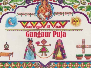 Gangaur 2021 Date Time Puja Samagri And Rituals In Hindi