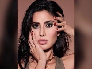 Bollywood Actress Katrina Kaif Look Stunning In Bold Olive Green Eye Makeup